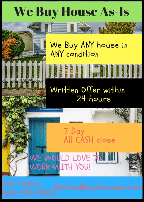 **We Will Buy Any Houston House & Pay Cash!***