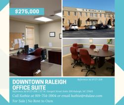Office Suite For Sale OR For Rent